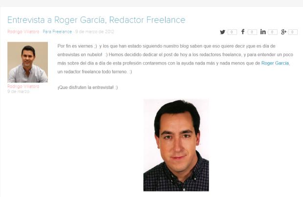 entrevista a roger garcia redactor freelance nubelo