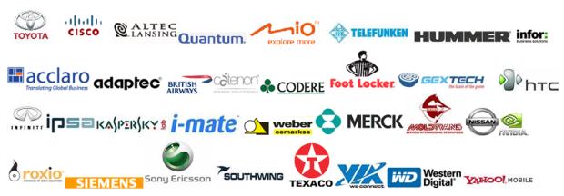 logos clientes servicio traducción inglés español